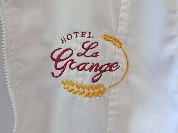 hotel la grange courmayeur nuovo logo realizzato da ideavale comunicazione bologna