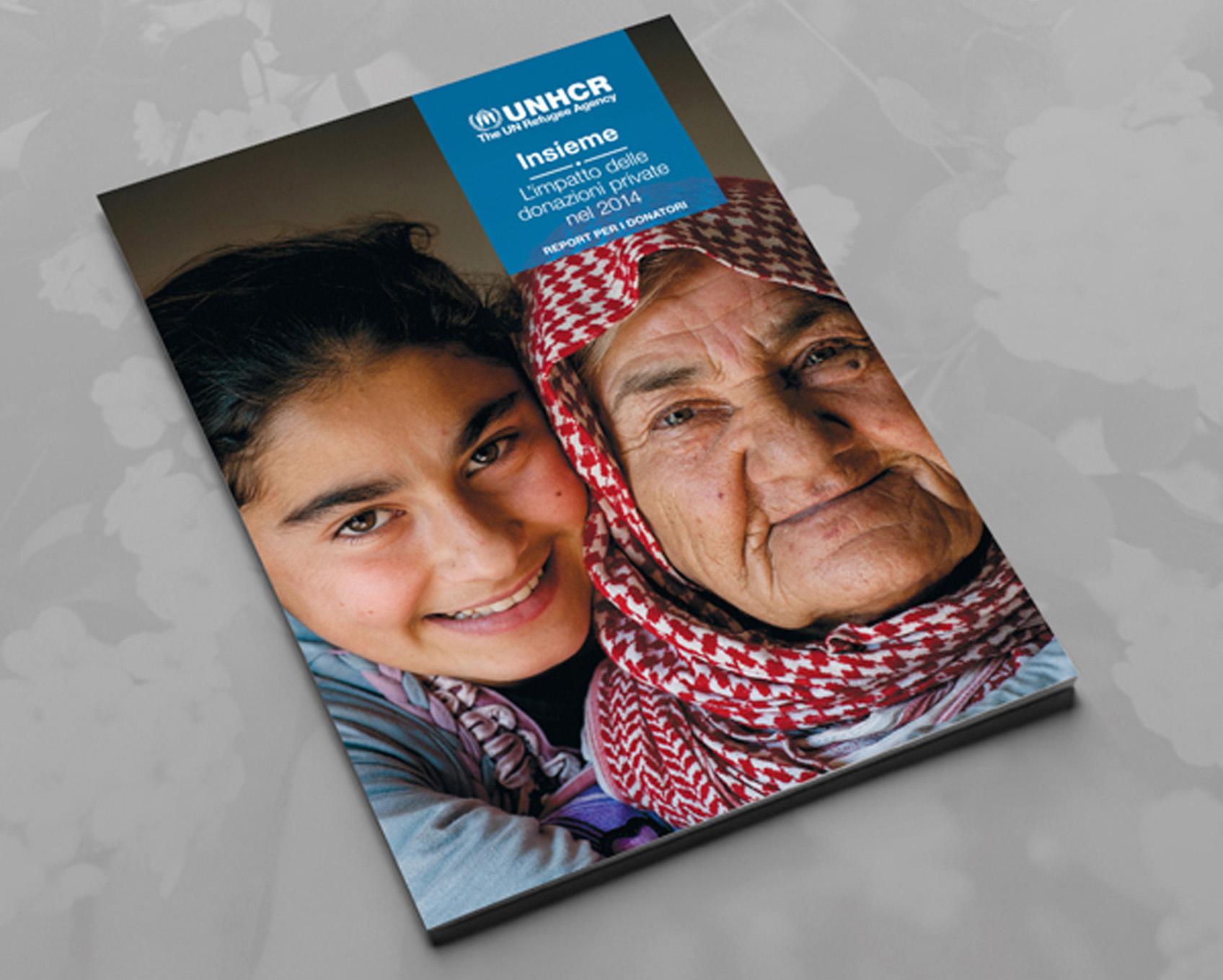 annual report UNHCR
