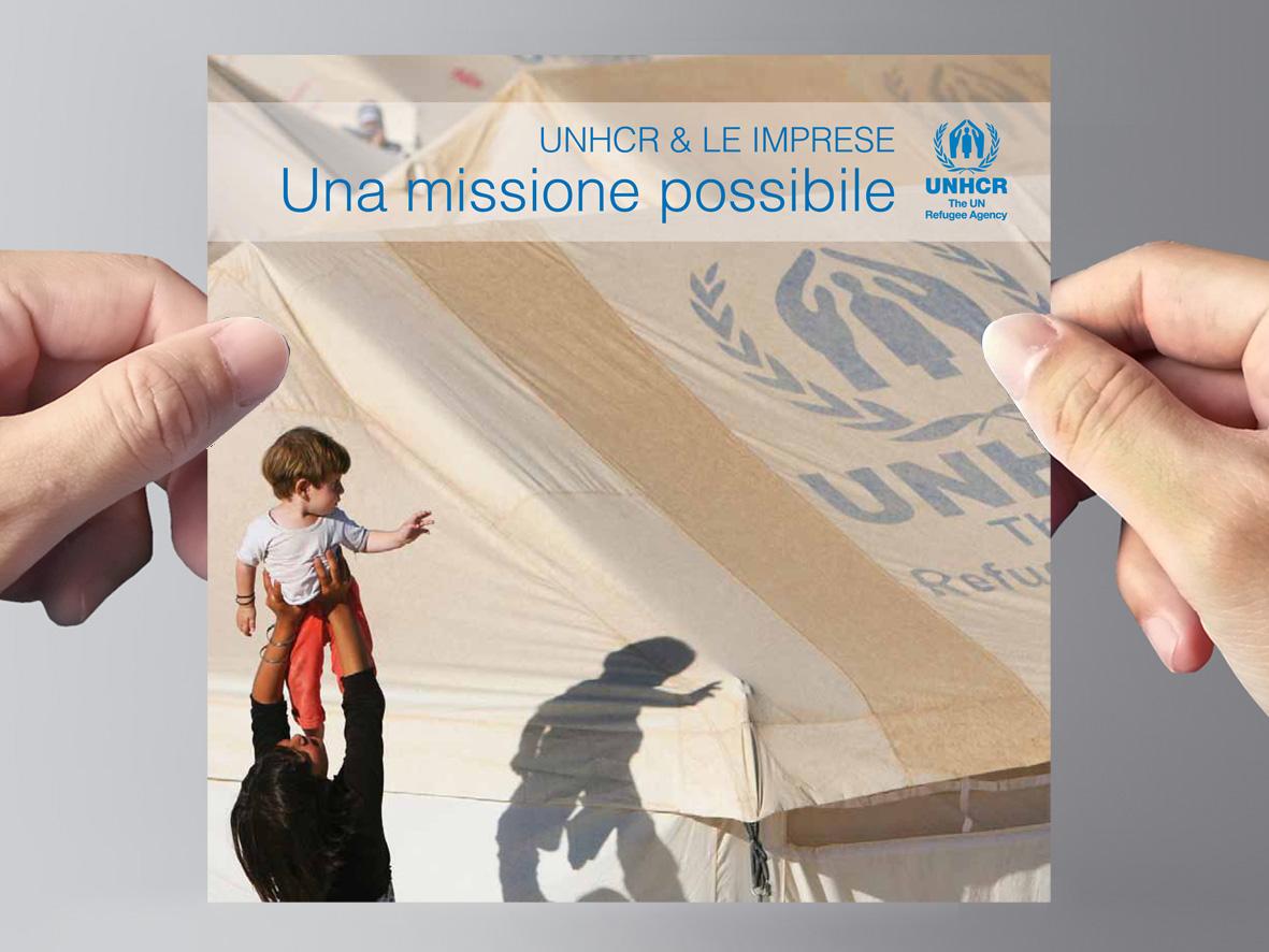 UNHCR Company Profile per sensibilizzare le piccole e medie imprese.