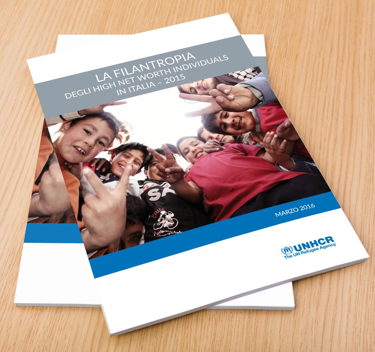 UNHCR ricerca sulla filantropia 2015