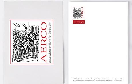 carta intestata aerco e nuovo logo