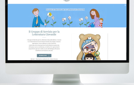Gruppo Letteratura Giovanile - nuovo Sito web realizzato da www.ideavale.it