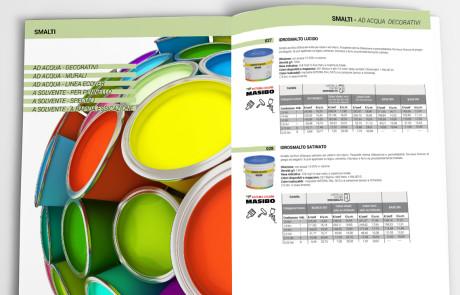 catalogo prodotti Masibo bologna realizzato da ideavale
