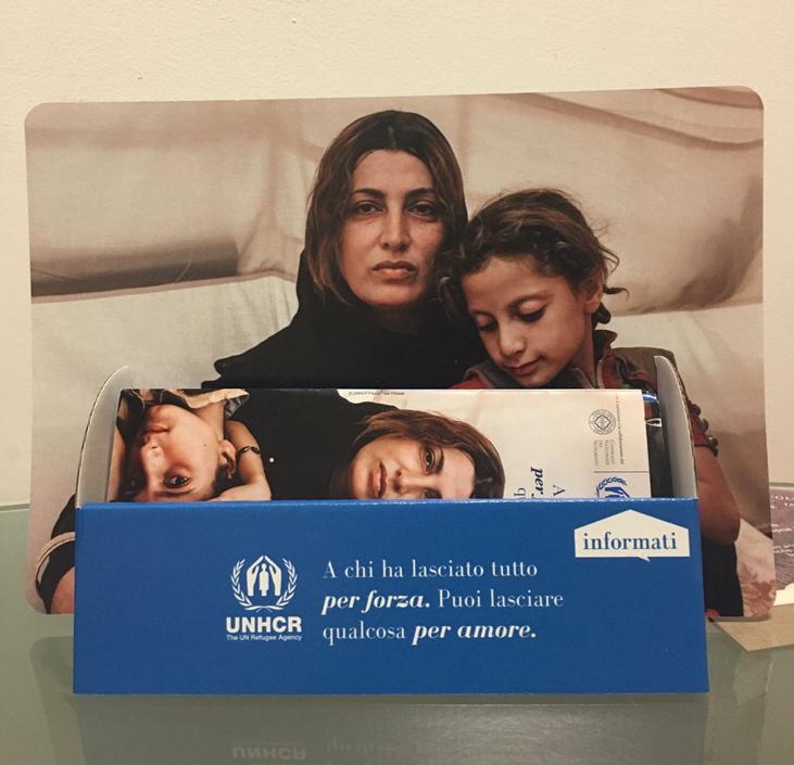 campagna per amore UNHCR invito realizzato da ideavale