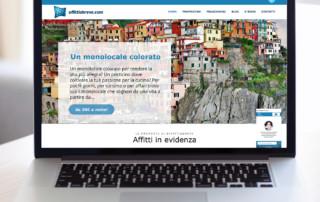 1-affittiabreve-holiplanet affittti turistici e-commerce realizzato da ideavale