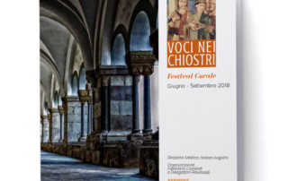 depliant voci nei chiostri festival corale aerco bologna
