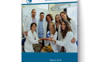 airc brochure donazioni realizzata da ideavale.it bologna