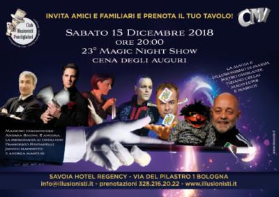 Club Magico Italiano Club illusioni Prestigiatori ideavale Bologna