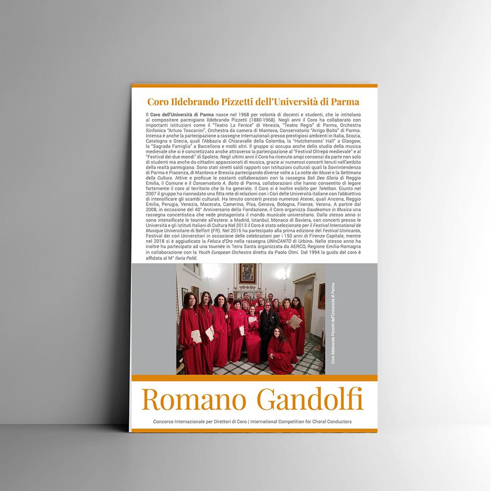 romano gandolfi concorso aerco realizzato da Ideavale