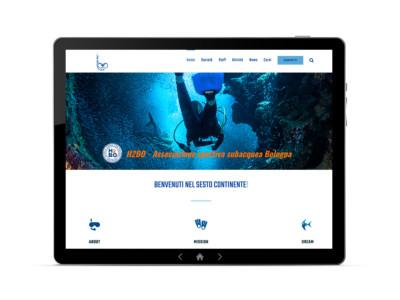h2bo apnea bologna sito web ideavale