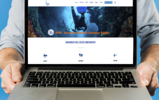h2bo.net subacquea bologna restyling sito web 2019